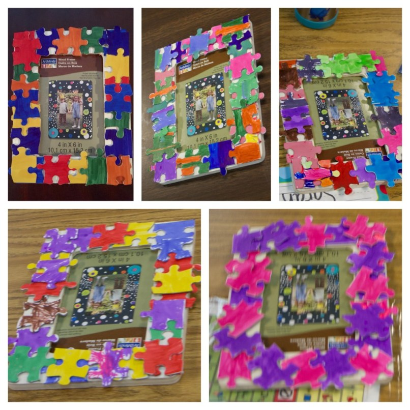 Fantastic How To Make A Puzzle Frame Embellishment - Custom Picture ...