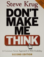 Livre Don't Make Me Think!