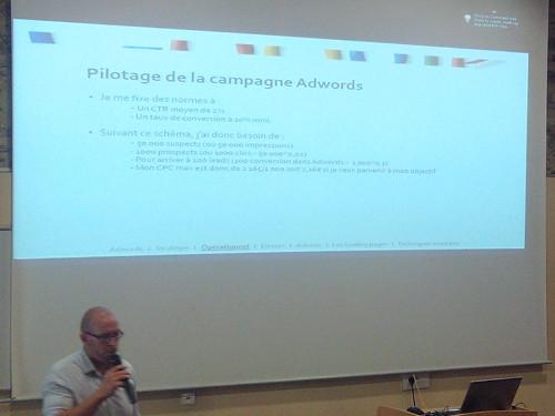 SEO Camp Nantes 2013 : pilotage campagne AdWords