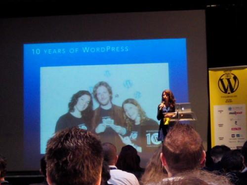 Présentation de Sara Rosso au WordCamp Paris 2014