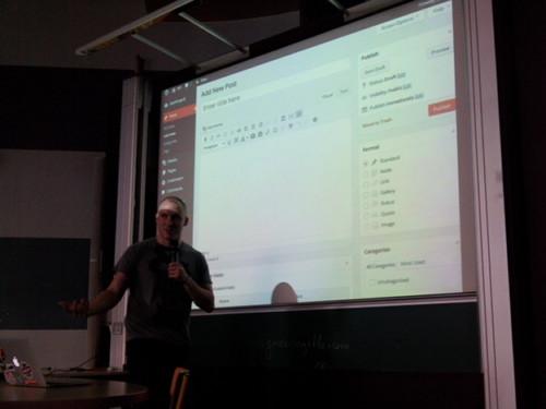 Présentation de Noel Tock au WordCamp Paris 2014