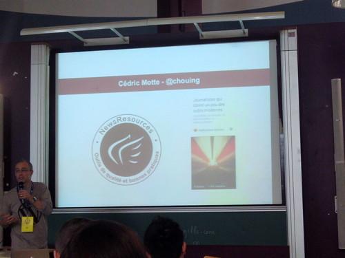 Présentation de Cédric Motte au WordCamp Paris 2014