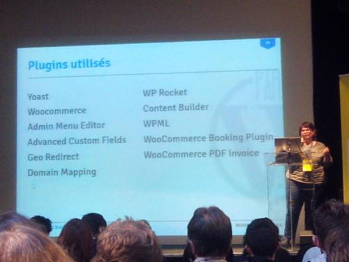 Présentation de Emilie Lebrun au WordCamp Paris 2014