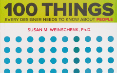[Livre] 100 Things – Every designer needs to know about people