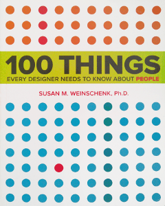 Livre 100 things every designer needs to know about people