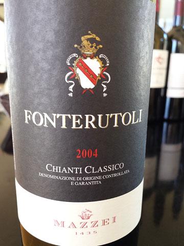 Fonterutoli Chianti Classico 2004
