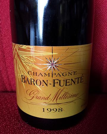 Champagne Baron-Fuenté Grand Millésime 1998