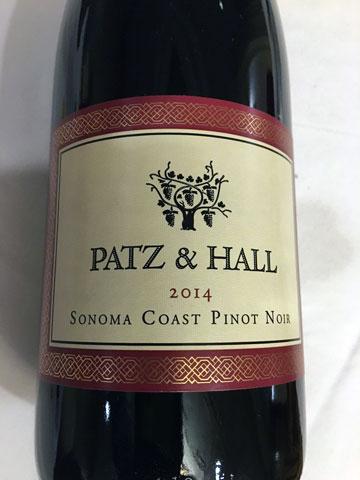 Patz & Hall Pinot Noir 2014