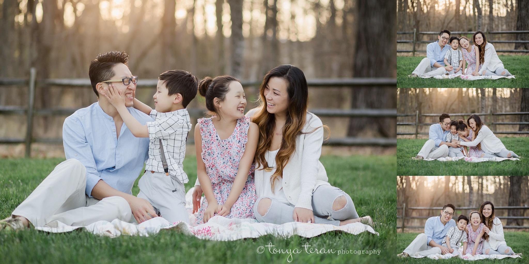 Cherry Blossom Tree Session   Tonya Teran Photography, Potomac, MD Newborn, Baby and Family Photographer