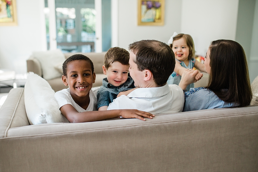 In-home Family Photo Session | Tonya Teran Photography, Washington, DC, NOVA Newborn, Baby, and Family Photographer