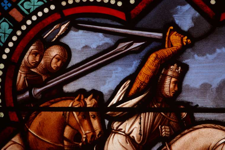 church-fight