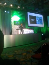 Martin Lindstrom on stage. Great presentation. Would love to hear him again.