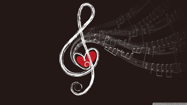 Love Music Notes