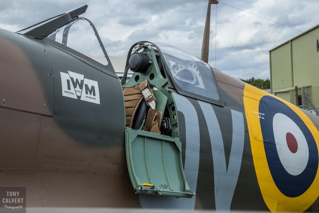 IWM Mk 1 Spitfire detail