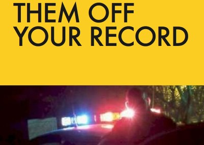 Book Cover and Book Production: Traffic Tickets