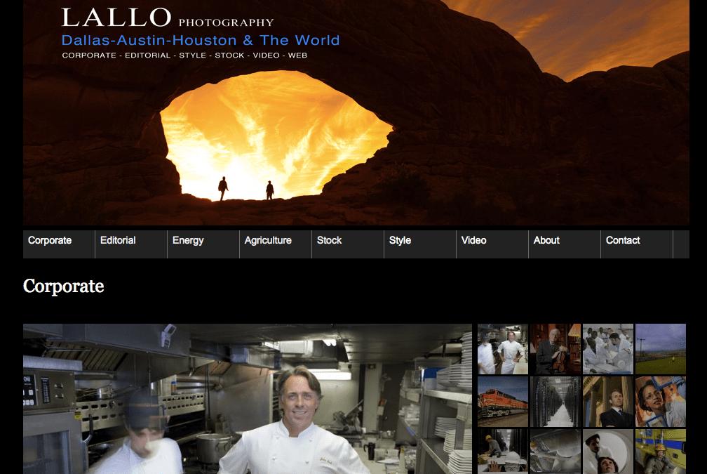 Photographer Web Site