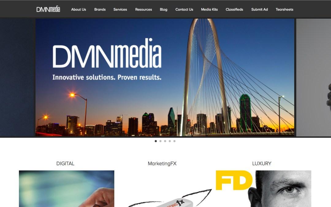Relaunch of DMNmedia.com – Professional Services Web Site