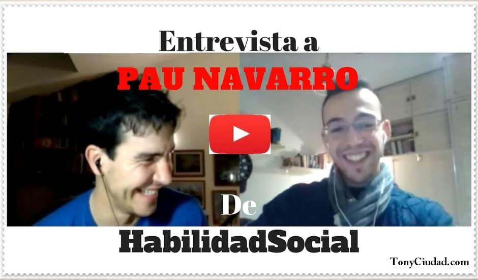 Portada. entrevista Pau Navarro habilidadsocial