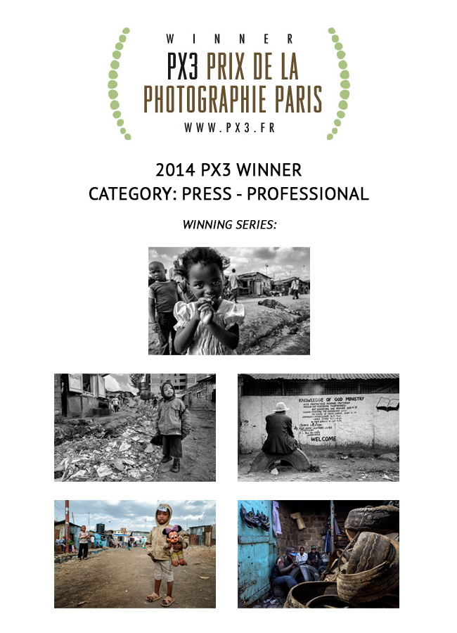 BEAUTY IN HELL has been selected as GOLD MEDAL WINNER AT THE 2014 PX3, GRAND PRIX DE LA PHOTOGRAPHIE PARIS, IN THE PRESS-PROFESSIONAL CATEGORY