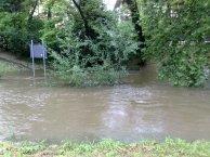 Parcul inundat