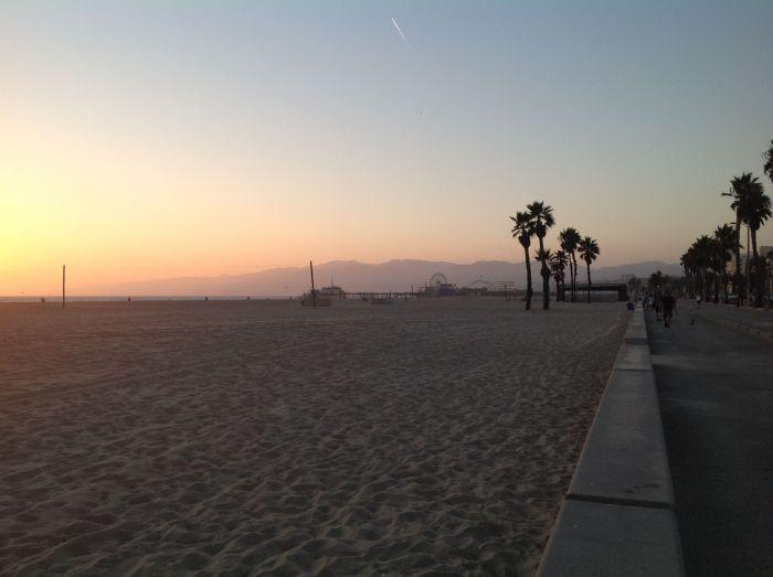 En un lugar cualquiera entre Venice y Santa Monica