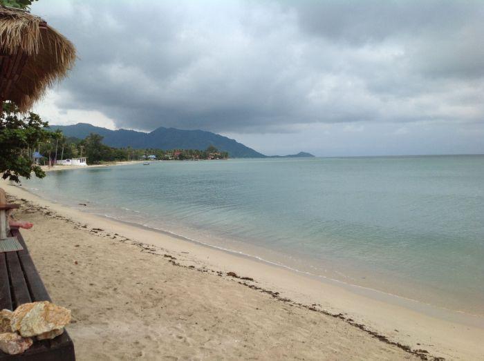 Una playa cualquiera de Koh Phangan