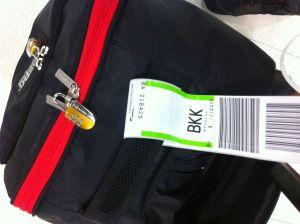 Empezamos bien, mi maleta ha llegado conmigo :)