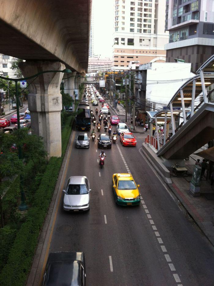 Mis primeras vistas de Bangkok