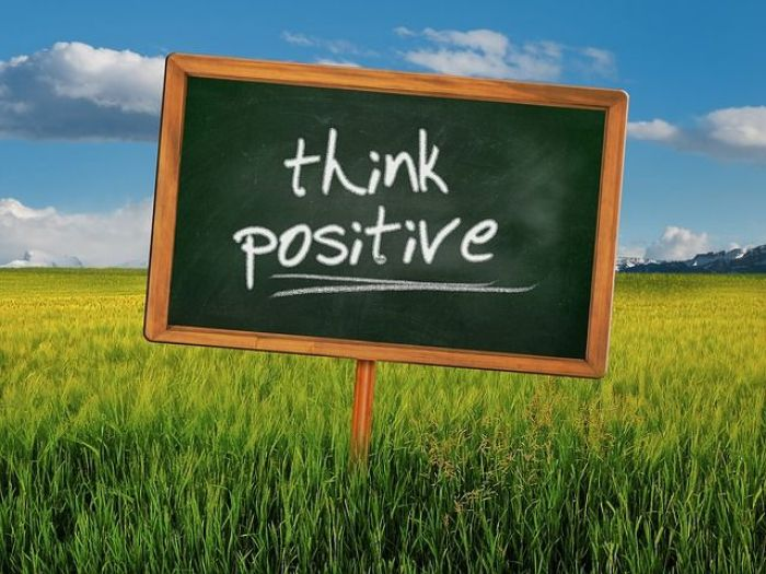 ¡Piensa positivo!