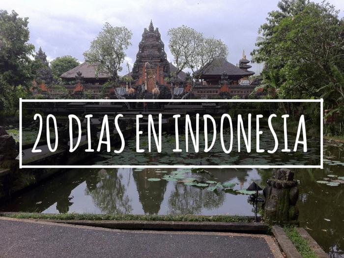 20 DIAS EN INDONESIA