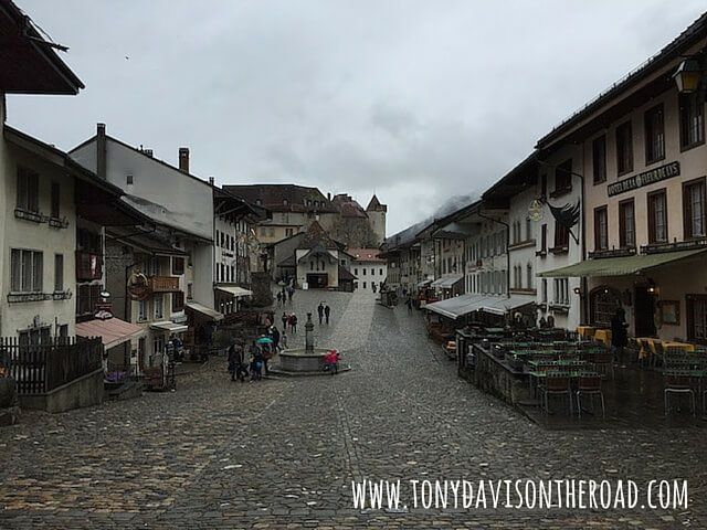 Medieval Town-Gruyere-Leman