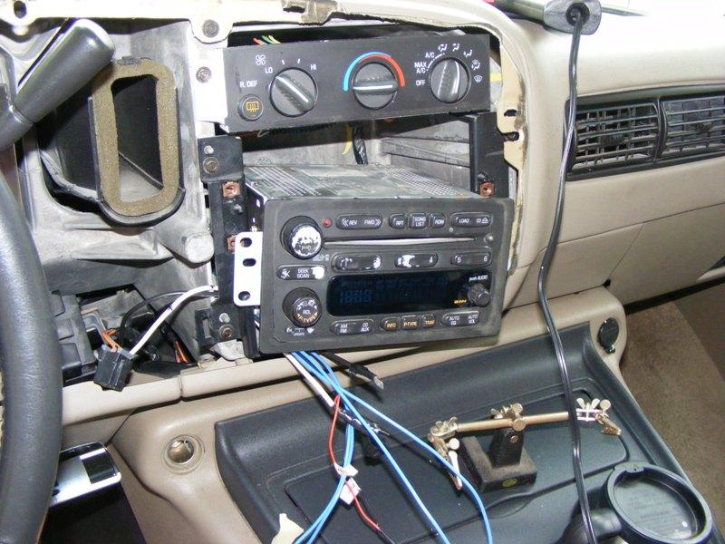 2002 avalanche radio wire harness