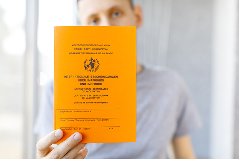 Vaccine Passport วัคซีนพาสปอร์ต International Vaccination Certificate