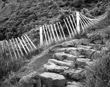 Arthur's Seat path, Edinburgh, Scotland