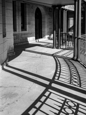 Rozelle Hospital railing
