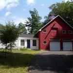 Classic Cape Barn Garage