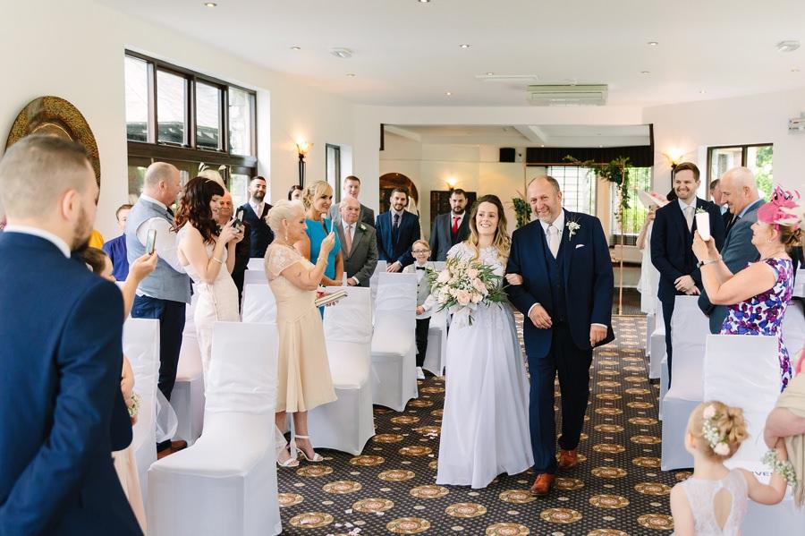 Bron Eifion Criccieth wedding