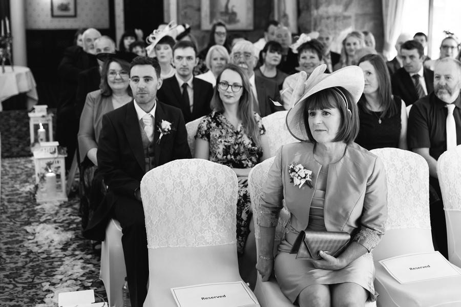 summer wedding at Tre Ysgawen Hall