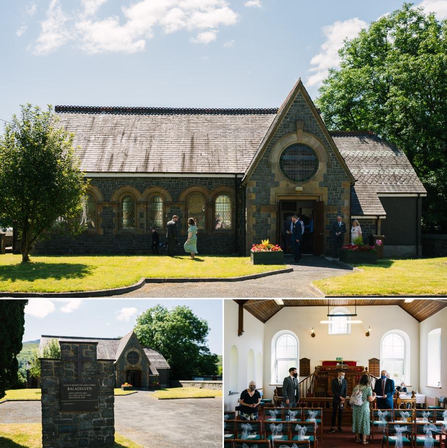 Bron Eifion country house wedding