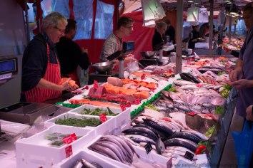 market in Amsterdam