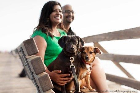 Engagement Photos at Seacliff Beach in Capitola California