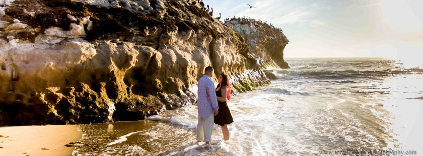Engagement photos at Natural Bridges (6 of 1)
