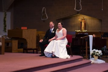 St. Lucy Parish wedding