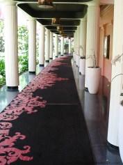 Royal Hawaiian Hotel hallway
