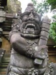 My favorite statue at the water temple.