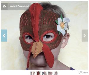 hen mask