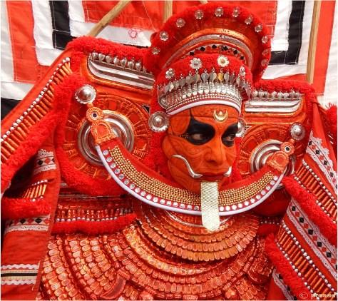 """Bhagavathi at Vikranandapuram Kshetram, Taliparamba"" by prasadnp - PhotographedPreviously published: 2013/04/29. Licensed under Creative Commons Attribution-ShareAlike 3.0 via Wikipedia - http://en.wikipedia.org/wiki/File:Bhagavathi_at_Vikranandapuram_Kshetram,_Taliparamba.jpg#mediaviewer/File:Bhagavathi_at_Vikranandapuram_Kshetram,_Taliparamba.jpg"