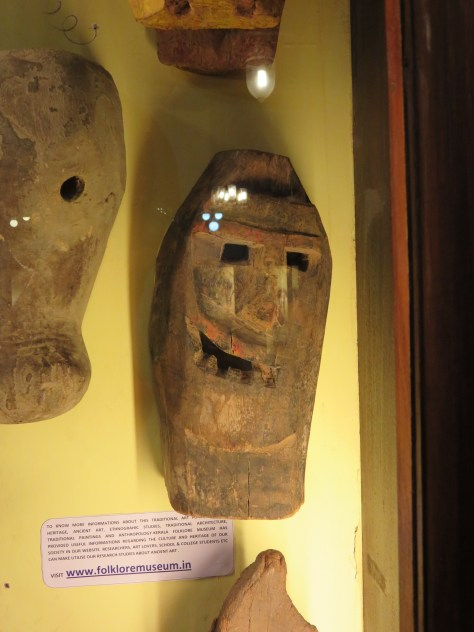 I like the really basic expression in this mask from Karnataka.