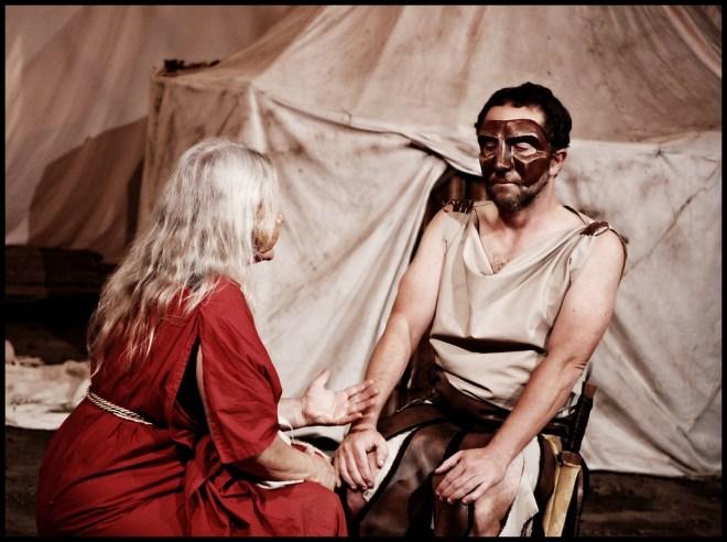 Hecuba and Agamemnon