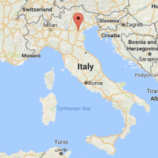 Abano Terme, in the Veneto Region